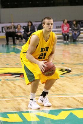 Sophomore Matt Craggs.