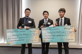 Business Venture Competition winning team