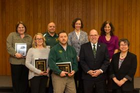 Excellence in Service recipients