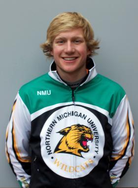Sophomore Kyle Bratrud.