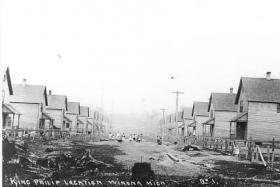 The King Phillip Location in Winona (circa 1906).