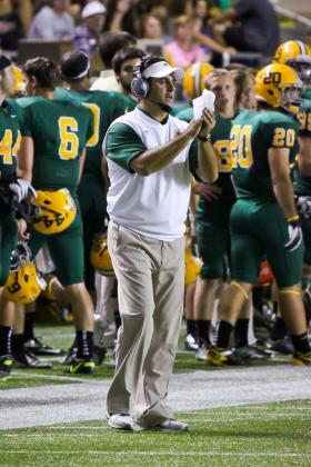 Coach Chris Ostrowsky.