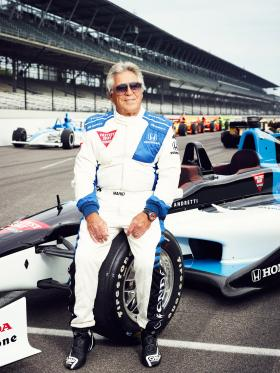 Mario Andretti by James Farrell