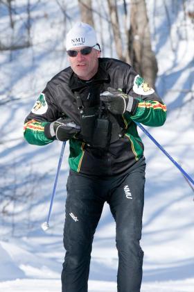 NMU coach Sten Fjeldheim.