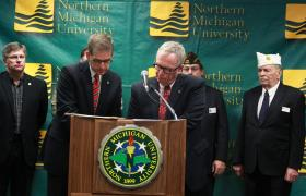 Jason Allen, MDMVA and David Haynes, NMU