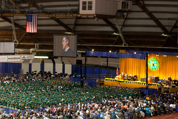 Congratulations to the more than 1,000 new Wildcat alumni and their family and friends.  Northern Michigan University wishes you the best in all of your future endeavors.  Go Wildcats!   NMU Commencement