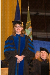 Distinguished Faculty Award at Commencement