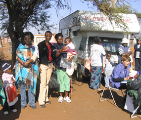 Mobile Clinic, South Africa