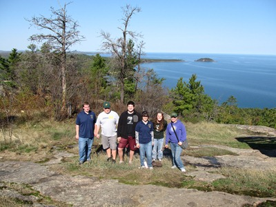 The CJA visits Sugarloaf Mt.