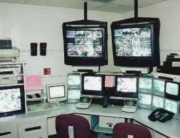 Loss Prevention Control Room