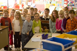 Student teachers and their class