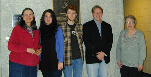 2008 Legler Memorial Poetry Prize Winners