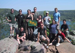 RE 358 Students at Devils Lake