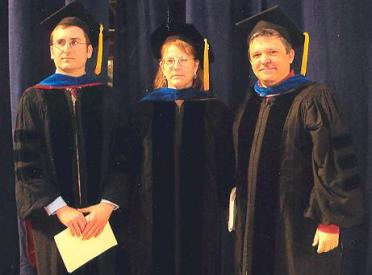 Faculty Members at Graduation