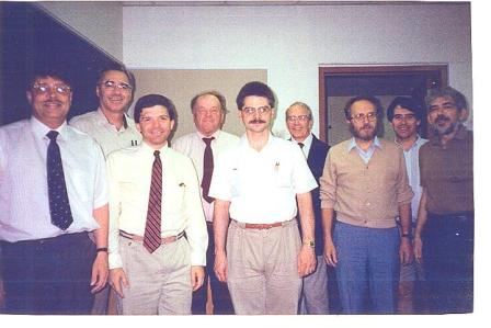 NMU History Faculty 1992