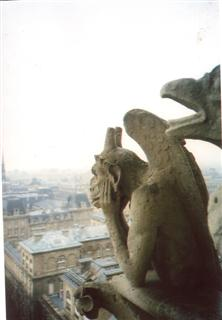 Photo of gargoyle taken by NMU staff member