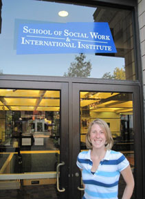 Kaytee Alderton Riley at the U of Michigan School of Social Work