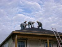 Men working on roof
