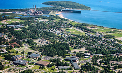 City of Marquette Arial View