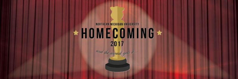 Twitter Homecoming cover photo showing the logo on a red curtain background