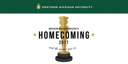 Twitter post showing the homecoming logo over a white background