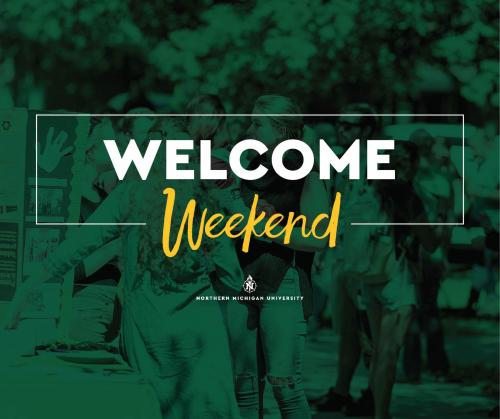 "Facebook post for ""Welcome Weekend"""
