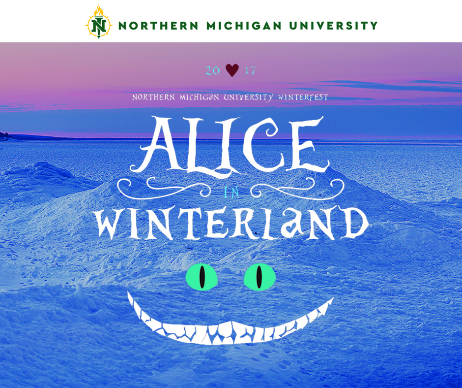 "Facebook post for ""Alice in Winterland"""