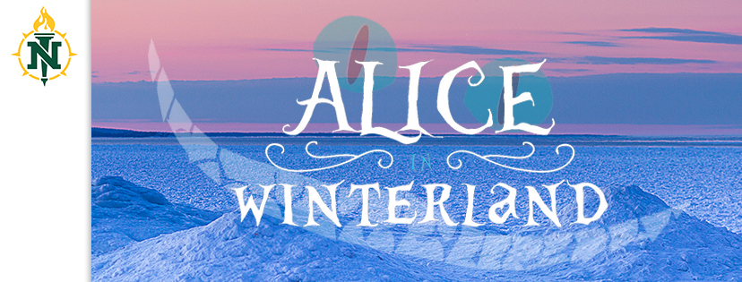 "Snow scene ""Alice in Winterland"" coverphoto"