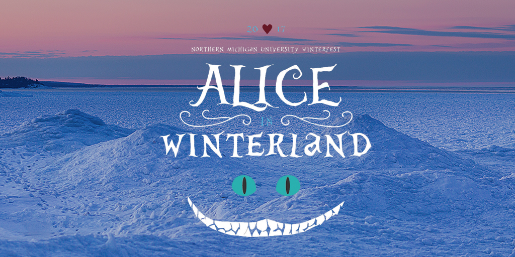 "Twitter ""Alice in Winterland"" post"
