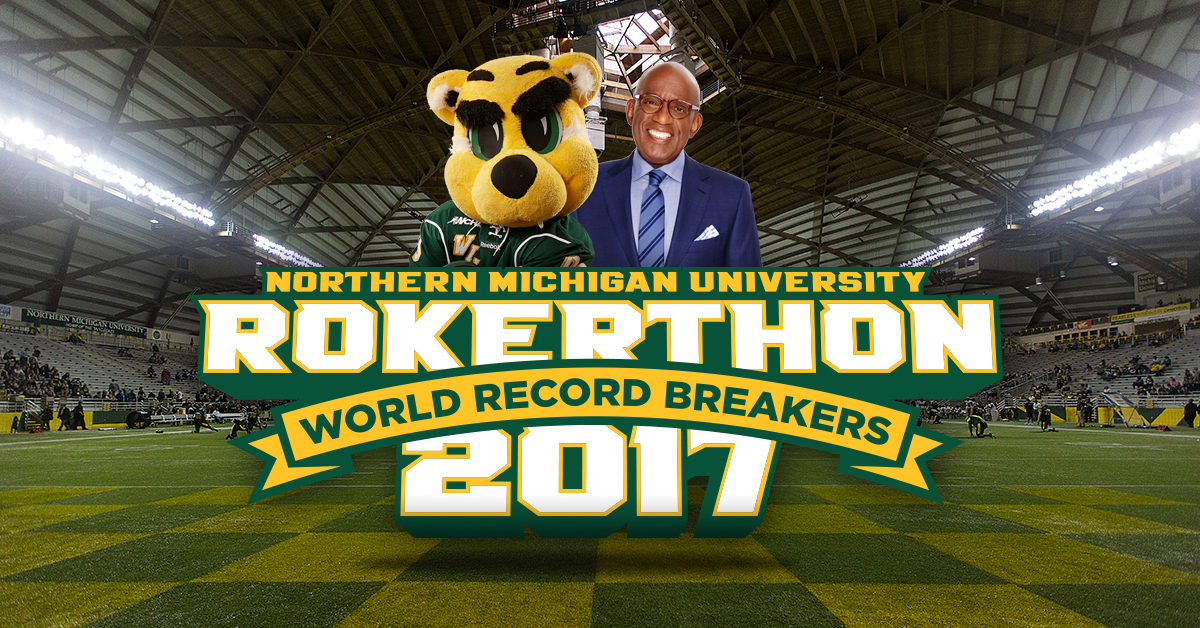 Rokerthon at NMU Facebook post graphic
