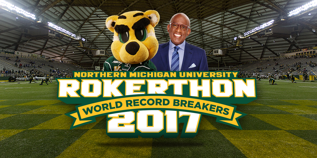 Rokerthon at NMU Twitter post
